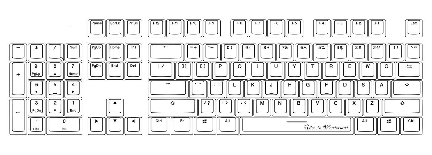iRocks 發佈 K65M 全尺寸鏡射反轉鍵盤